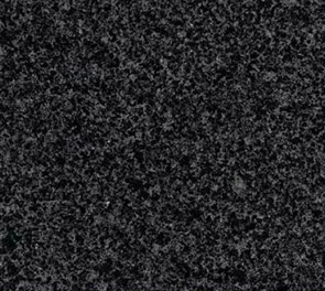 芝麻石材黑光面